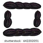 calathea dottie  calathea... | Shutterstock . vector #642202051