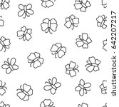 seamless pattern with...   Shutterstock .eps vector #642207217