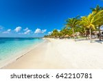 akumal beach   paradise bay ... | Shutterstock . vector #642210781