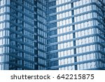 detail glass building... | Shutterstock . vector #642215875