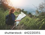 woman  travel. female travelers ...   Shutterstock . vector #642220351
