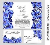 vintage delicate invitation... | Shutterstock .eps vector #642226729