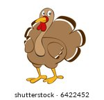 turkey cartoon | Shutterstock .eps vector #6422452