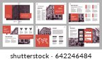 design annual report vector... | Shutterstock .eps vector #642246484