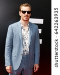 Small photo of Michael Fassbender at the Los Angeles special screening of 'Alien: Covenant' held at the TCL Chinese Theatre IMAX in Hollywood, USA on May 17, 2017.