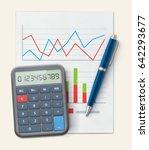 vector illustration of business ... | Shutterstock .eps vector #642293677