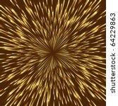 stylized golden fireworks ... | Shutterstock .eps vector #64229863