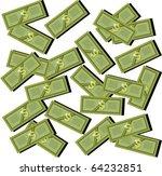many money | Shutterstock .eps vector #64232851