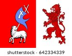 Flag Of Auch Is A Commune And...