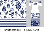 stylized persian ornament.... | Shutterstock .eps vector #642337645