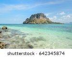 Rock Beach With Crystal Clear...