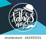 Vector Father's Day Greetings...