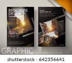 commercial brochure design  for ... | Shutterstock .eps vector #642356641