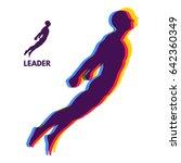leadership concept. personal... | Shutterstock .eps vector #642360349