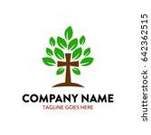 church logo template | Shutterstock .eps vector #642362515