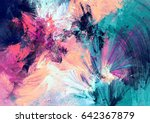 cold multicolor beautiful... | Shutterstock . vector #642367879