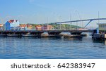queen emma bridge pontoon... | Shutterstock . vector #642383947