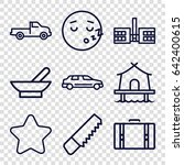 Clipart Icons Set. Set Of 9...