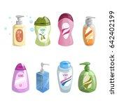 cartoon trendy design different ...   Shutterstock .eps vector #642402199