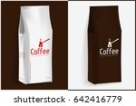 pack of coffee vector template...   Shutterstock .eps vector #642416779