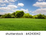 beautiful spring landscape | Shutterstock . vector #64243042