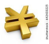 3d Rendering Golden Japanese...