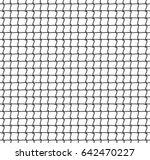 tennis net background. vector... | Shutterstock .eps vector #642470227