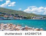 iskele  urla  izmir  turkey  ... | Shutterstock . vector #642484714