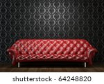 interior design scene of red... | Shutterstock . vector #64248820