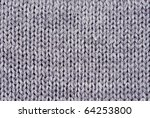 Close Up Of Knitted Wool...