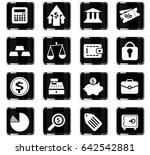 finance vector icons for user... | Shutterstock .eps vector #642542881