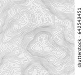 topographic map background... | Shutterstock .eps vector #642543451
