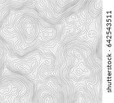topographic map background... | Shutterstock .eps vector #642543511