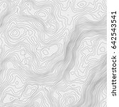 topographic map background... | Shutterstock .eps vector #642543541