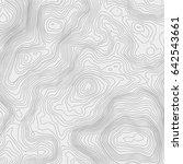 topographic map background... | Shutterstock .eps vector #642543661