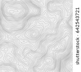 topographic map background... | Shutterstock .eps vector #642543721
