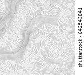 topographic map background... | Shutterstock .eps vector #642543841
