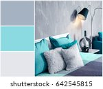 mint color matching and... | Shutterstock . vector #642545815