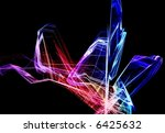 3d rendered fractal  abstract... | Shutterstock . vector #6425632