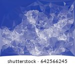 abstract monotone background... | Shutterstock .eps vector #642566245