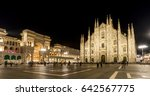 milan cathedral  duomo di...   Shutterstock . vector #642567775