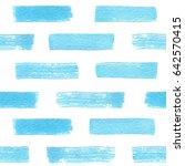 hand drawn watercolor texture... | Shutterstock .eps vector #642570415