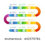 step  ribbon infographics | Shutterstock .eps vector #642570781