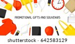 advertising background with... | Shutterstock .eps vector #642583129