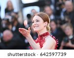 julianne moore attends the ... | Shutterstock . vector #642597739