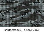 urban camouflage seamless... | Shutterstock .eps vector #642619561
