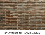 old brick wall texture. brick... | Shutterstock . vector #642622339