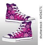abstract retro vector sneaker... | Shutterstock .eps vector #6426271