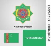 Turkmenistan National Emblem...