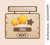 level completed mobile game...